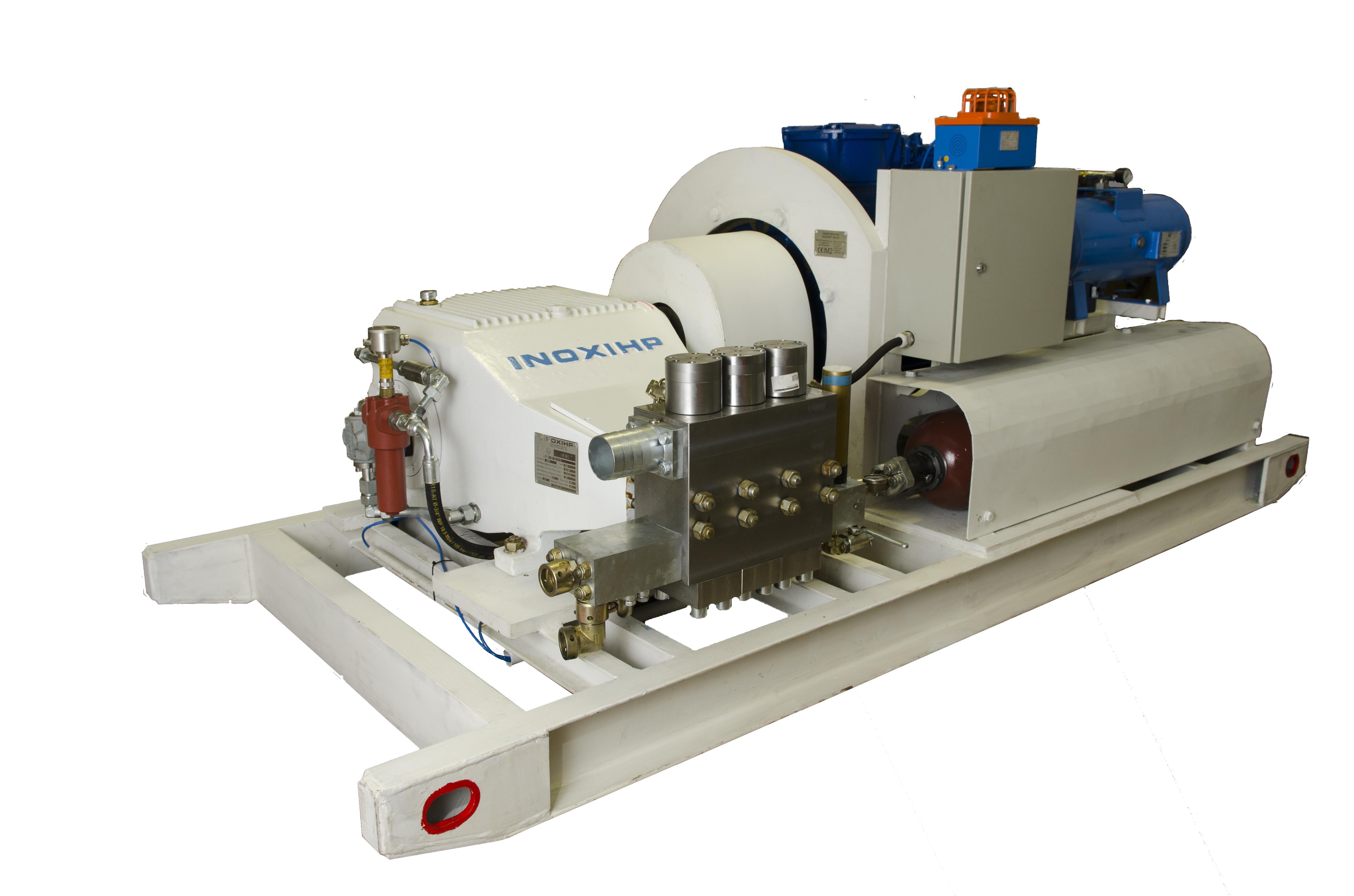Emulsion pump units